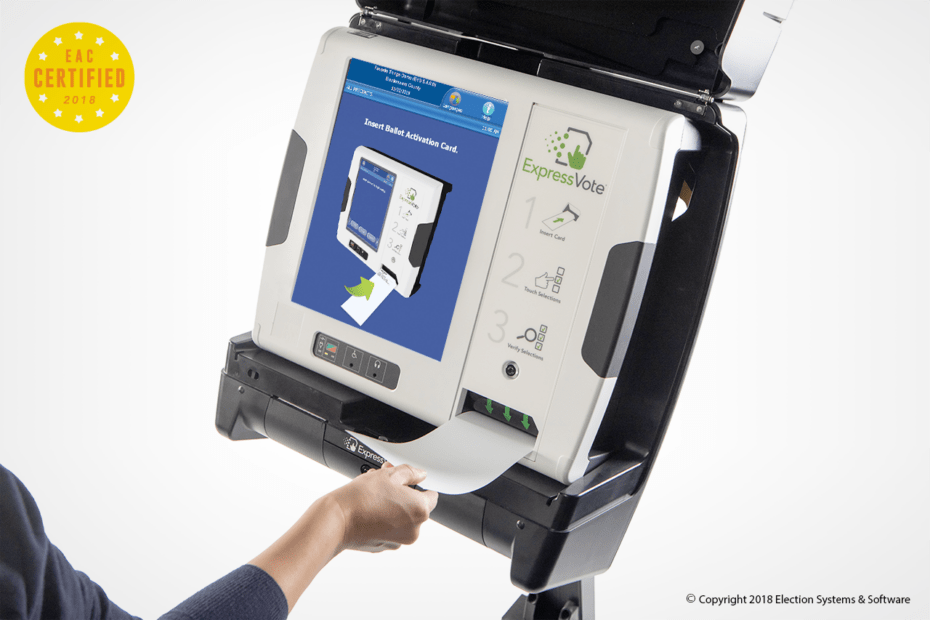 ExpressVote voting machine