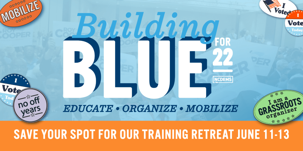 Building Blue Weekend Training Retreat